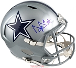 Dak Prescott Autographed Dallas Cowboys Full Size Replica Speed Helmet