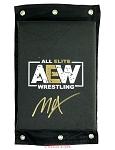 Jon Moxley Autographed AEW Turnbuckle Pad