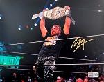 Jon Moxley Autographed AEW Wrestling Champion 8x10 Photo