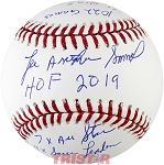 Lee Smith Autographed Official Baseball Inscribed with Career Stats