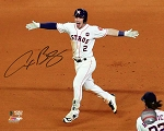 Alex Bregman Autographed Houston Astros 2017 World Series 16x20 Photo