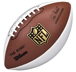 Wilson Official White Panel Signature Football