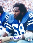 Herb Scott Autographed Dallas Cowboys 8x10 Photo