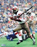 Jimmy Johnson Autographed San Francisco 49ers 8x10 Photo inscribed HOF 94