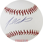 Dan Ortmeier Autographed Official ML Baseball