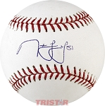 Noah Lowry Autographed Official ML Baseball
