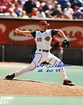 Scott Williamson Autographed Cincinnati Reds 8x10 Photo Inscribed 99 NL ROY
