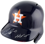 Craig Biggio Autographed Houston Astros Batting Helmet Inscribed HOF 15