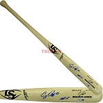 Craig Biggio Autographed Louisville Slugger Game Model Bat Inscribed HOF 15