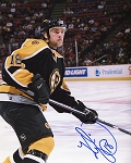 Kyle McLaren Autographed Boston Bruins Closeup 8x10 Photo
