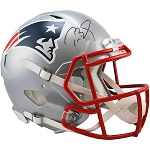 Tom Brady Autographed New England Patriots Replica Speed Full Size Helmet