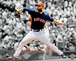Dallas Keuchel Autographed Houston Astros 16x20 Photo