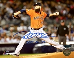 Dallas Keuchel Autographed Houston Astros 8x10 Photo Inscribed 2015 AL Cy