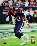 Kevin Johnson Autographed Houston Texans 8x10 Photo