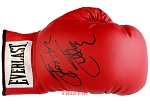 Sylvester Stallone Autographed Red Everlast Boxing Glove