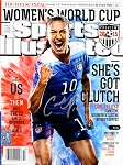 Carli Lloyd Autographed June 2015 Sports Illustrated Magazine