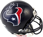 Jadeveon Clowney Autographed Houston Texans Mini Helmet