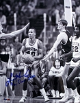 Larry Micheaux Autographed Houston Cougars 8x10 Photo Inscribed Phi Slama Jama