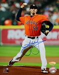 Joe Musgrove Autographed Houston Astros 8x10 Photo