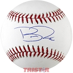 Brad Peacock Autographed Official ML Baseball