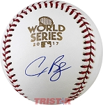 Alex Bregman Autographed 2017 World Series Baseball