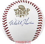 Will Harris Autographed 2017 World Series Baseball