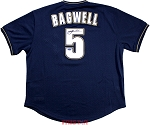 Jeff Bagwell Autographed Houston Astros M&N 1994 Throwback Navy Jersey