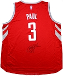 Chris Paul Autographed Houston Rockets Replica Jersey