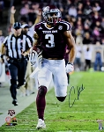 Christian Kirk Autographed Texas A&M Aggies Running 16x20 Photo