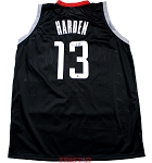 James Harden Autographed Houston Rockets Black Custom Jersey
