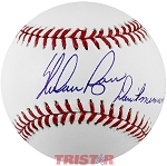 Nolan Ryan Autographed Official ML Baseball Inscribed Don't Mess with Texas