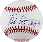 Nolan Ryan Autographed Official ML Baseball Inscribed The Ryan Express