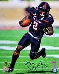 Keke Coutee Autographed Texas Tech Red Raiders 8x10 Photo