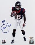 Keke Coutee Autographed Houston Texans 8x10 Photo