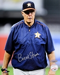 Brent Strom Autographed Houston Astros 8x10 Photo