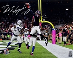DeAndre Hopkins Autographed Houston Texans Endzone Catch 16x20 Photo