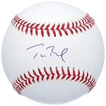 Tom Brady Autographed Official Major League Baseball