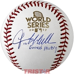 Lance McCullers Autographed 2017 World Series Baseball Inscribed Earned History