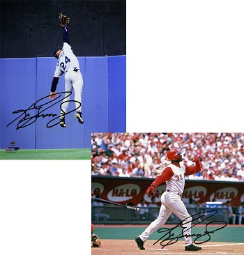 Ken Griffey Jr. Autographed 8x10 Photo