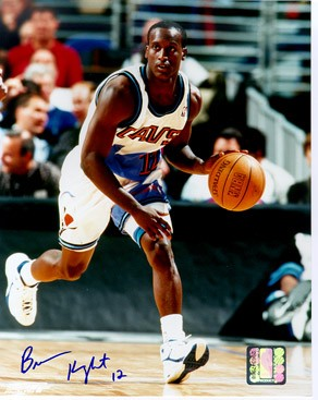 Brevin Knight Autographed Cleveland Cavaliers 8x10 Photo