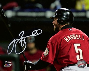 Jeff Bagwell Autographed Houston Astros 8x10 Photo
