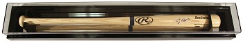 Baseball Bat Display Case with Mirrored Back