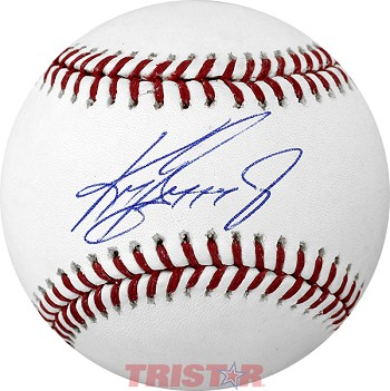 Ken Griffey Jr. Autographed Official Major League Baseball