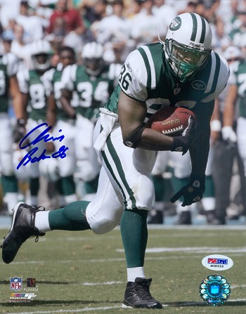 Chris Baker Autographed New York Jets 8x10 Photo