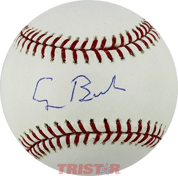 President George H. W. Bush Autographed Official Major League Baseball