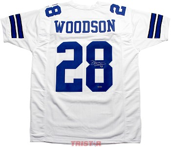 Darren Woodson Autographed Dallas Cowboys Custom Jersey