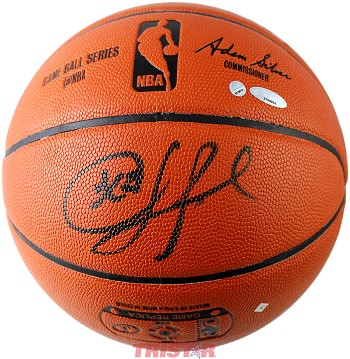 Chris Paul Autographed Spalding Indoor/Outdoor NBA Basketball