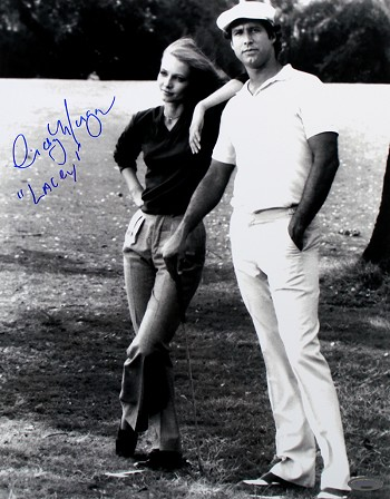 Cindy Morgan Autographed Caddyshack Ty & Lacey 11x14 Photo
