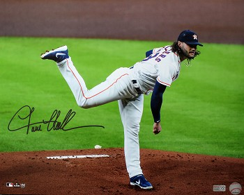Lance McCullers Jr. Autographed Houston Astros 16x20 Photo