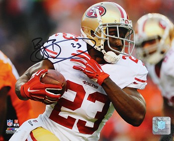 Reggie Bush Autographed San Francisco 49ers 8x10 Photo